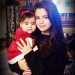 Selena Gomez with Tori Gomez