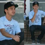 Shia Labeouf smoking