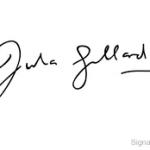 Julia Roberts sign