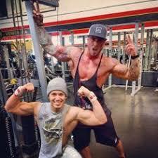 brandon at gym