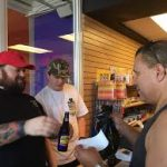 Chumlee drinking beer