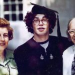Al Franken with his parents