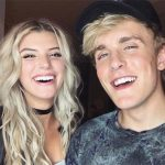 Alissa Violet with Jake Paul