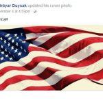 Bahtiyar Duysak facebook post