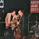 Bill Clinton Playing Saxophone In Jazz Trio