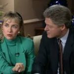 Bill Clinton With His Ex-Girlfriend Gennifer Flowers