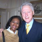 Bill Clinton With His Ex-Girlfriend Lencola Sullivan