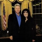 Bill Clinton With His Ex-Girlfriend Monica Lewinsky