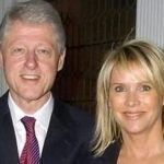 Bill Clinton With His Ex-Girlfriend Patricia Duff