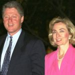 Bill Clinton With His Ex-Girlfriend Sally Perdue
