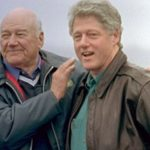 Bill Clinton With His Stepfather Roger Clinton Sr. (Left)