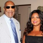 Bill Cosby With His Daughter Evin Harrah Cosby