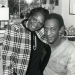 Bill Cosby With His Mother Anna Pearl Cosby