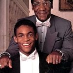 Bill Cosby With His Son Ennis Cosby