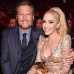 Blake Shelton with Gwen Stefani