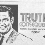 Bob Barker In His Debut TV Show Truth Or Consequences