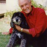 Bob Barker With His Dog