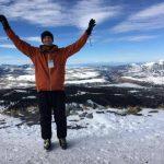 Caleb Moore, an adventure junkie
