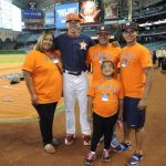 Carlos Correa with his family