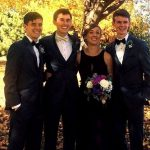 Connor Franta with his siblings