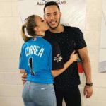 Daniella with his boyfriend