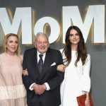 David Rockefeller With Daughter In Law Susan Rockefeller (Left) and Granddaughter Ariana Rockefeller (Right)