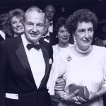 David Rockefeller With His Wife Peggy McGrath