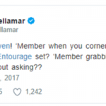 Actress Ariane Bellamar Tweet