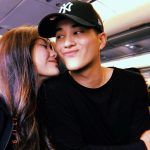 Franco Hernandez With His Girlfriend Janica Nam Floresca