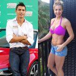 Gemma Atkinson and Cristiano Ronaldo