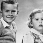 George Bush With His Sister Robin Bush