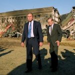 George W Bush Pentagon Visit After September 11 Attack