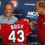 George W Bush Texas Rangers Baseball Franchise