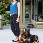 Hope Solo, a dog lover