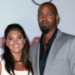 Hope Solo with her husband Jerramy Stevens
