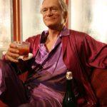 Hugh Hefner Drinking