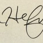 Hugh Hefner Signature