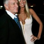 Hugh Hefner With His Ex-Girlfriend Amanda Paige