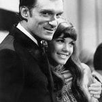 Hugh Hefner With His Ex-Girlfriend Barbi Benton