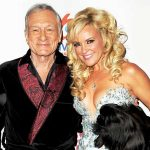 Hugh Hefner With His Ex-Girlfriend Bridget Marquardt