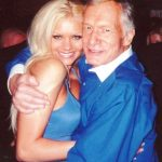 Hugh Hefner With His Ex-Girlfriend Buffy Tyler