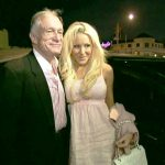 Hugh Hefner With His Ex-Girlfriend Cristal Camden