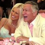 Hugh Hefner With His Ex-Girlfriend Dalene Kurtis