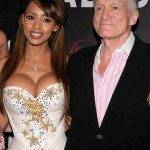 Hugh Hefner With His Ex-Girlfriend Ida Ljungqvist