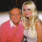 Hugh Hefner With His Ex-Girlfriend Izabella St. James