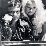 Hugh Hefner With His Ex-Girlfriend Karen Christy