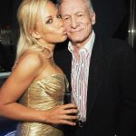 Hugh Hefner With His Ex-Girlfriend Kendra Wilkinson