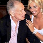 Hugh Hefner With His Ex-Girlfriend Kristina Shannon