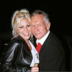 Hugh Hefner With His Ex-Girlfriend Stephanie Heinrich