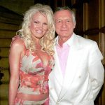 Hugh Hefner With His Ex-Girlfriend Tina Jordan